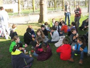 Gouter Foret propre Meudon 25-03-2017